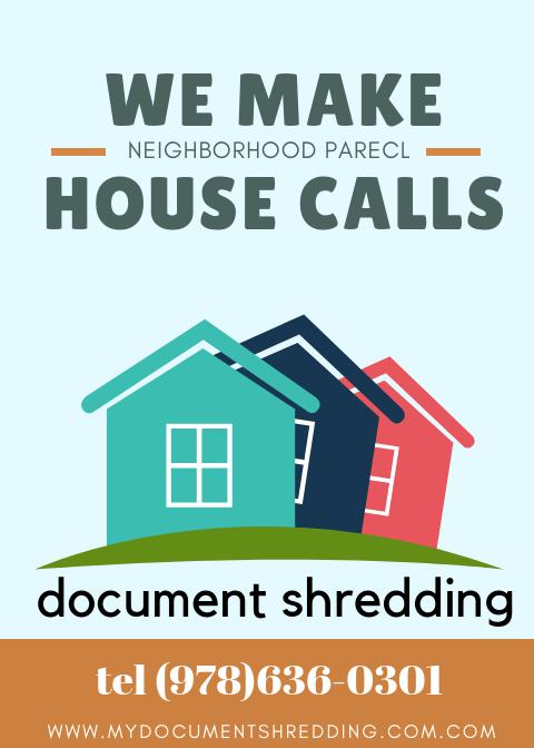 Residential Document Shredding
