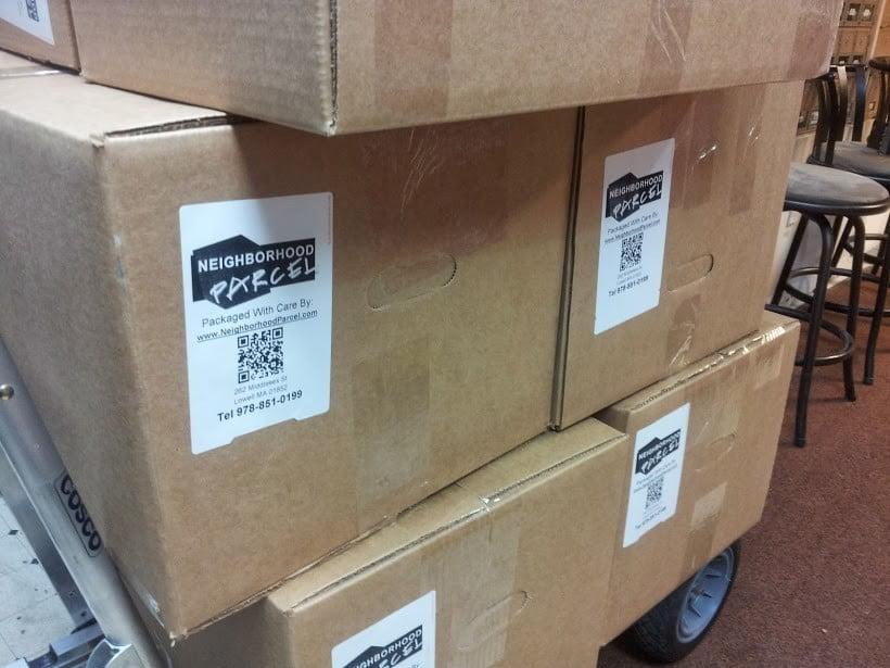FedEx shipping Center in Tewksbury MA 01876