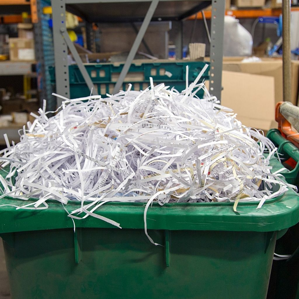 rent shredding bin